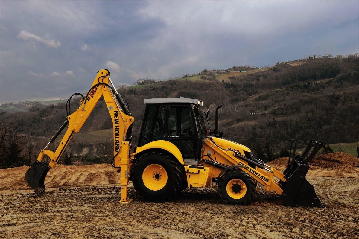 NEW HOLLAND B115 С КОВШОМ 80 СМ